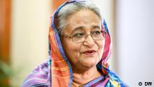 W's Chief Editor Ines Pohl and Head of Asia Debarati Guha interviewed Bangladesh's Prime Minister Sheikh Hasina at her residence Ganabhaban in Dhaka on 9 February 2019.