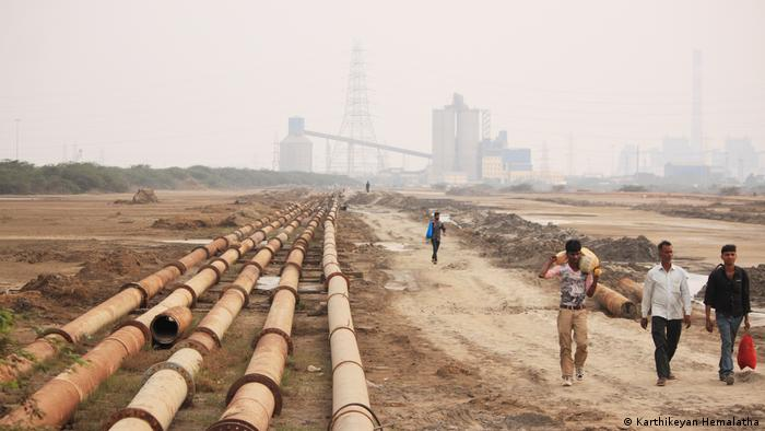 Indien Seppakkam - Kraftwerk