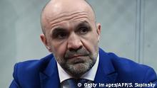 Ukraine - Vladyslav Manger bei Gerichtsanhörung