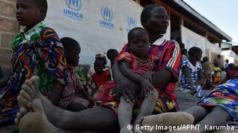 Des déplacés sud-soudanais dans un camp du HCR au Kénya, en 2018.