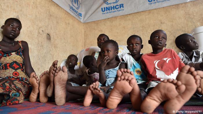 Kenia Flüchtlinge aus dem Südsudan   Flüchtlingszentrum in Kakuma (Getty Images/AFP/)