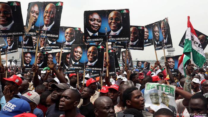 Wahl in Nigeria
