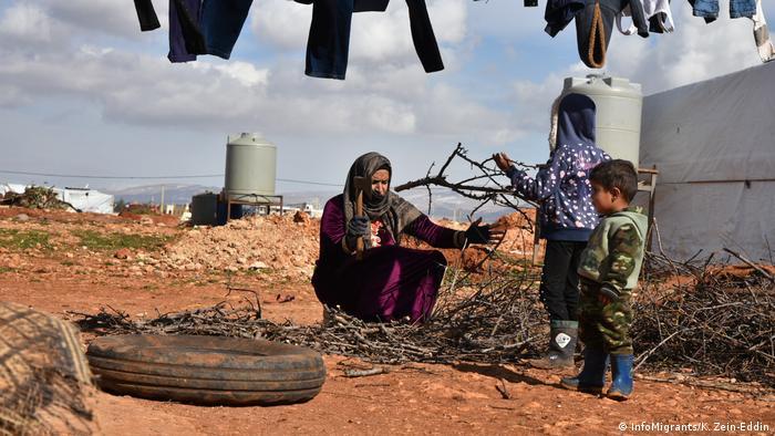 Libanon - Syrische Flüchtlinge (InfoMigrants/K. Zein-Eddin)
