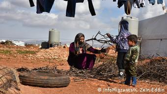 Καταστροφικές οι συνθήκες σε καταυλισμούς του Λιβάνου