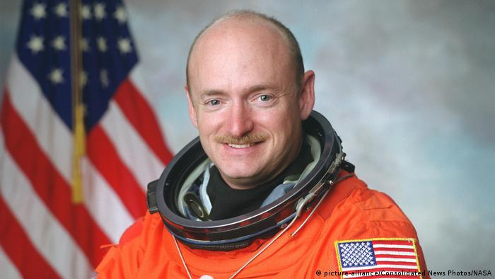 NASA astronaut Mark E. Kelly (picture-alliance/Consolidated News Photos/NASA)