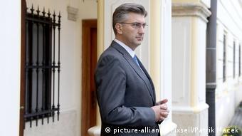 Andrej Plenkovic, Premierminister Kroatien