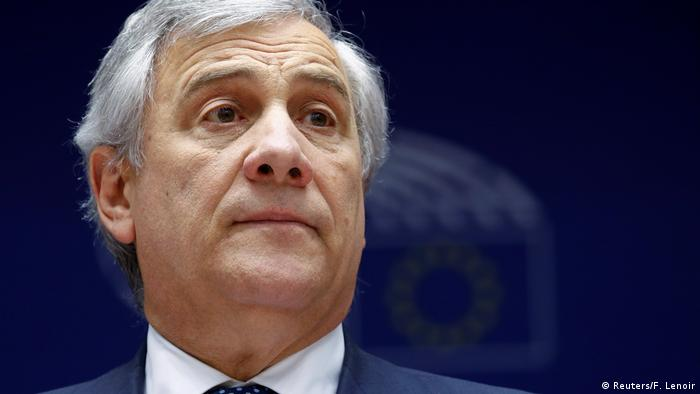 Antonio Tajani, president of the European Parliament (Reuters/F. Lenoir)