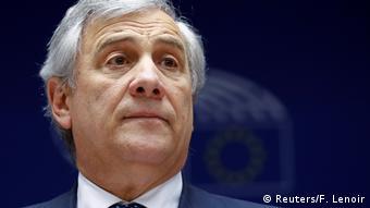 Antonio Tajani, Präsident des Europäischen Parlaments (Reuters/F. Lenoir)