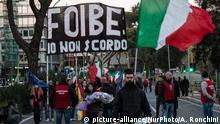 Italien Jahrestag 2018 Sacrario della Foiba di Basovizza | CasaPound Italia, Rechtsextremisten