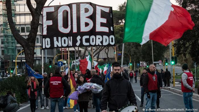 CasaPound neo-fascist rally in 2018