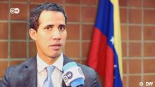 DW im Interview mit Juan Guaido in Caracas
