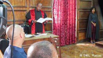 Mosambik Prozess des ehemaligen Botschafters Amelia Matos Sumban