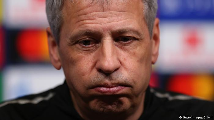 England London PK Borussia Dortmund Lucien Favre (Getty Images/C. Ivill)