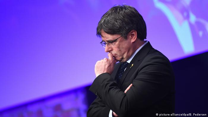 69. Berlinale Carles Puigdemont beim Cinema for Peace Gala