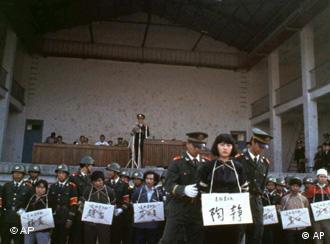 Hinrichtungsmethoden China
