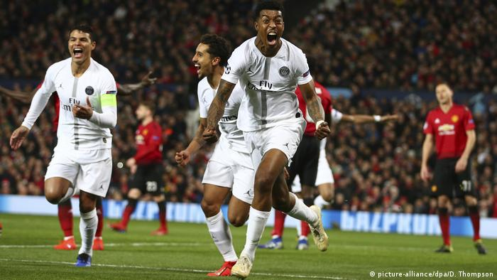 Presnel Kimpembe (front) opened the scoring for PSG (picture-alliance/dpa/D. Thompson)