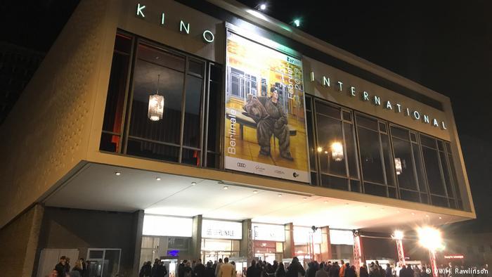 Exterior of Kino International cinema in Berlin (DW/H. Rawlinson)