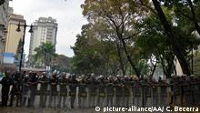 Venezuela, Caracas: Studentenproteste an der Hochschule