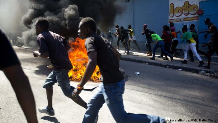Haiti, Port Au Prince protests
