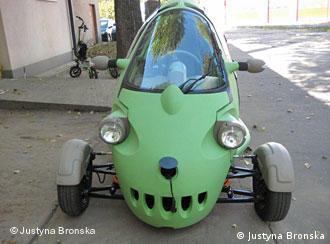 Elektroauto: SAM - Stadtauto aus Polen