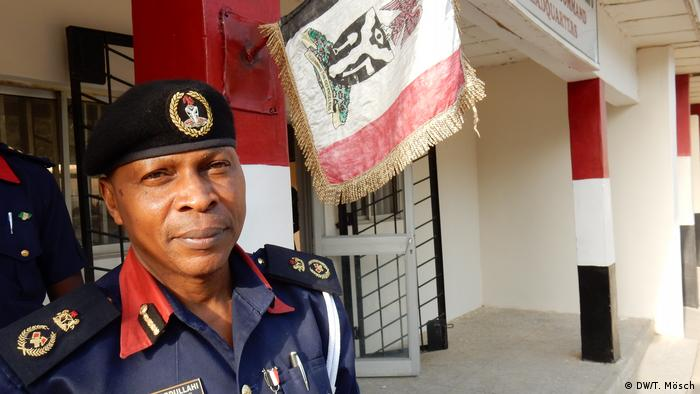 Nigerian security official Abdullahi Ibrahim (DW/T. Mösch)