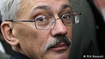 Russland Menschenrechtler Oleg Orlow in Moskau