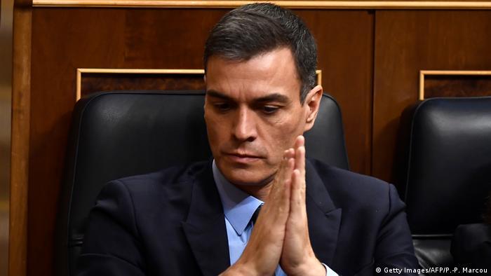 Spanien Pedro Sanchez (Getty Images/AFP/P.-P. Marcou)