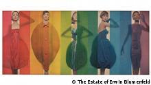 Ausstellung Erwin Blumenfeld   Rage for Color Look 1958