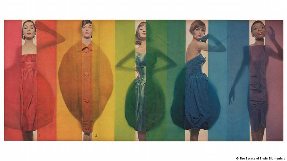 Ausstellung Erwin Blumenfeld | Rage for Color Look 1958