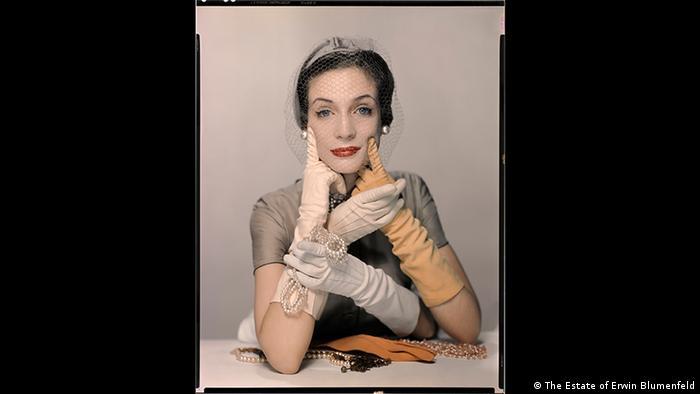 Erwin Blumenfeld exhibition, Foam, Amsterdam - Pat Blake for Vogue NY 1954