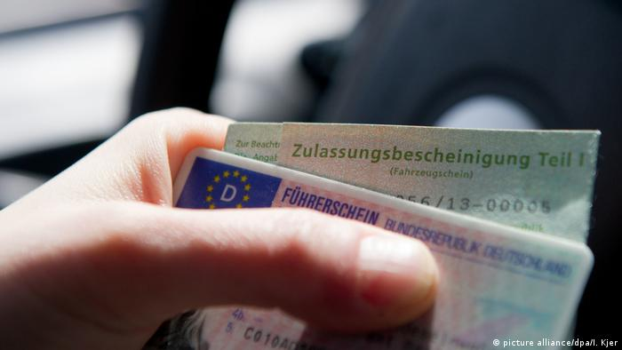 German driver's license (picture alliance/dpa/I. Kjer)