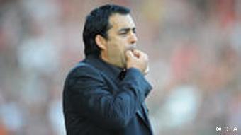 SC Freiburg - Borussia Mönchengladbach, Trainer Robin Dutt