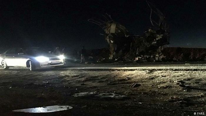На місці скоєння теракту в Ірані