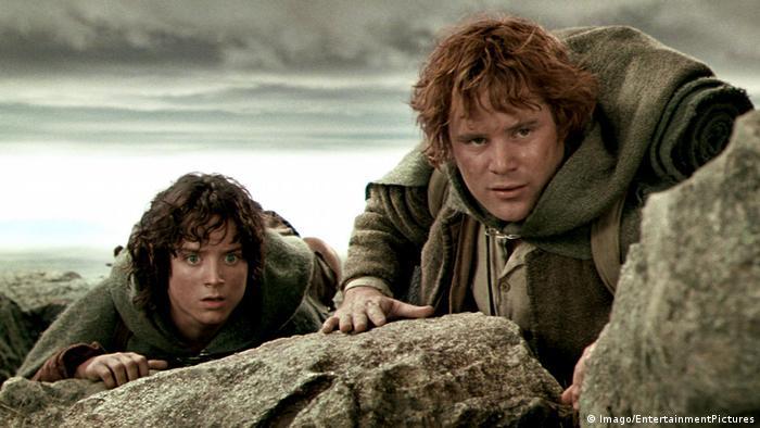 Filmszene aus Herr der Ringe mit Frodo und Sam (Imago/EntertainmentPictures)