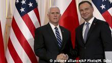 Polen USA l Neue US-Raketen-Systeme für Polen l Mike Pence zu Besuch in Polen