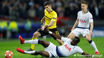 Fussball UEFA Champions League Achtelfinale – Tottenham vs BVB (Reuters/E. Keogh)