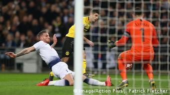 Fussball UEFA Champions League Achtelfinale – Tottenham vs BVB - Christian Pulisic (Imago/Action Plus/J. Patrick Fletcher)