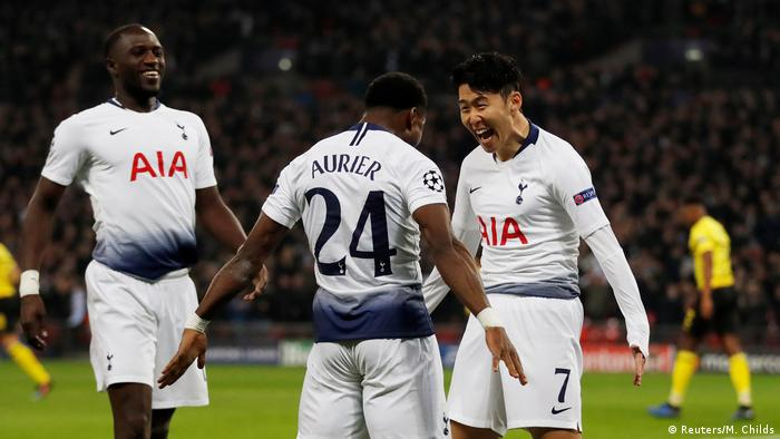 Champions League Tottenham S Late Show Blows Borussia