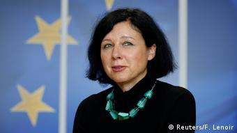 Brüssel Vera Jourova, EU-Justizkommissarin (Reuters/F. Lenoir)