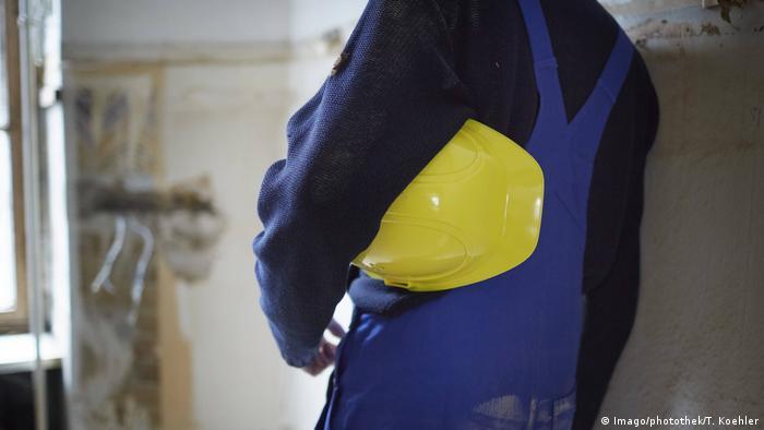 Symbolbild Baurbeiter Wirtschaft Rezession (Imago/photothek/T. Koehler)