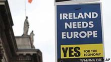 Irland / EU-Reformvertrag / Plakat