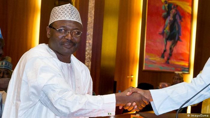 Shugaban hukumar zaben Najeriya INEC Prof. Mahmoud Yakubu