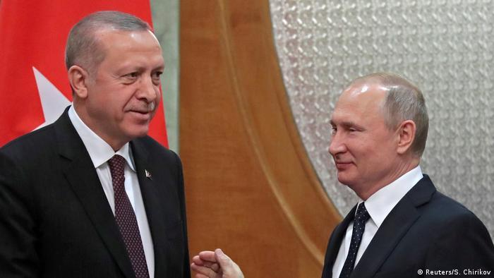 Реджеп Тайип Эрдоган и Владимир Путин (фото из архива)
