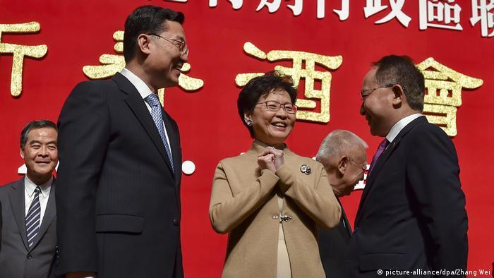 China Mond-Neujahrsempfang in Hongkong (picture-alliance/dpa/Zhang Wei)
