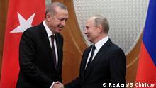 Russland Türkei Putin Erdogan Sotschi