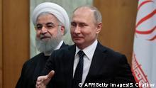 Russland Iran Putin Rohani Sotschi