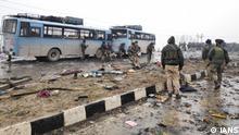 Kashmir Anschlag in Pulwama