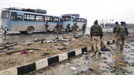 Kashmir Anschlag in Pulwama (IANS)