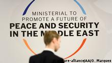 Polen Warschau - Nahostgipfel: The ministerial to Promote a Future of Peace and Security in the Middle East