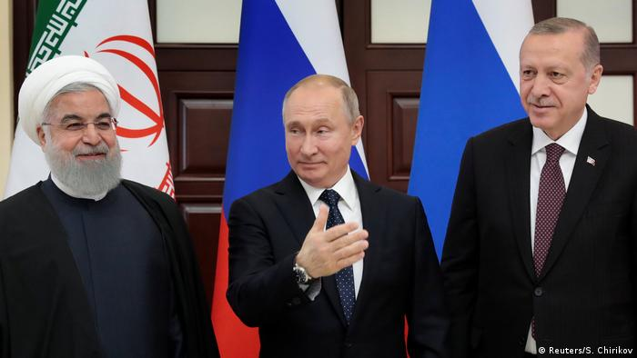 Turkish, Russian and Iranian leaders